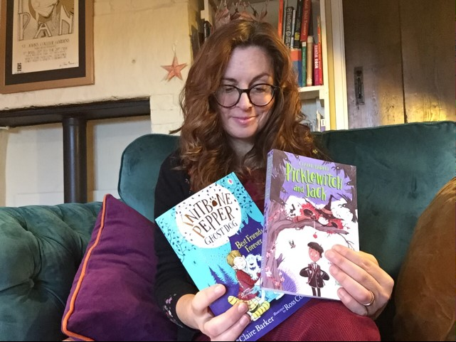 ADSM Claire Barker books