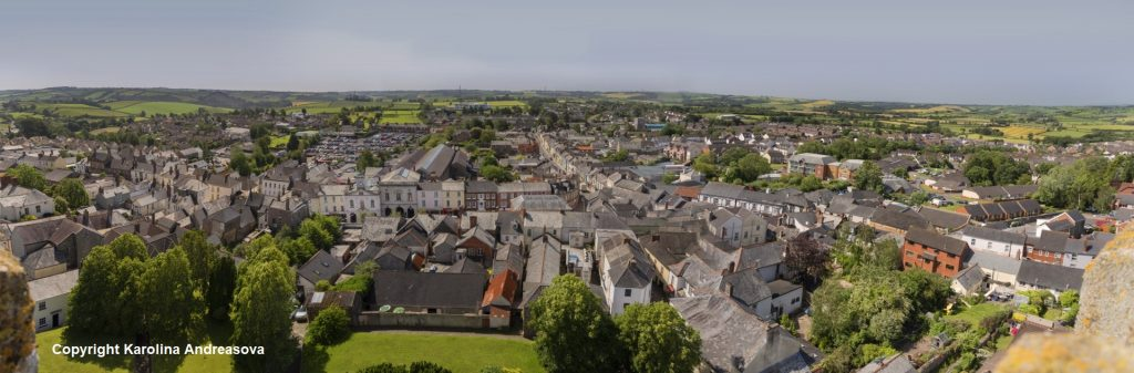 South Molton Panorama 2019